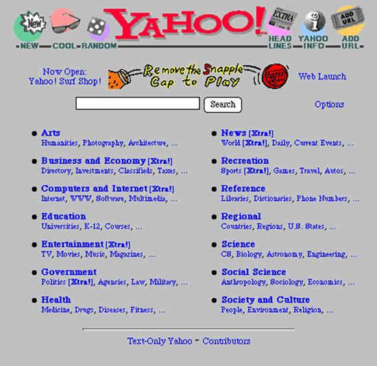 Happy 13th Birthday, Yahoo! - Glen Scott - Handcrafting ...